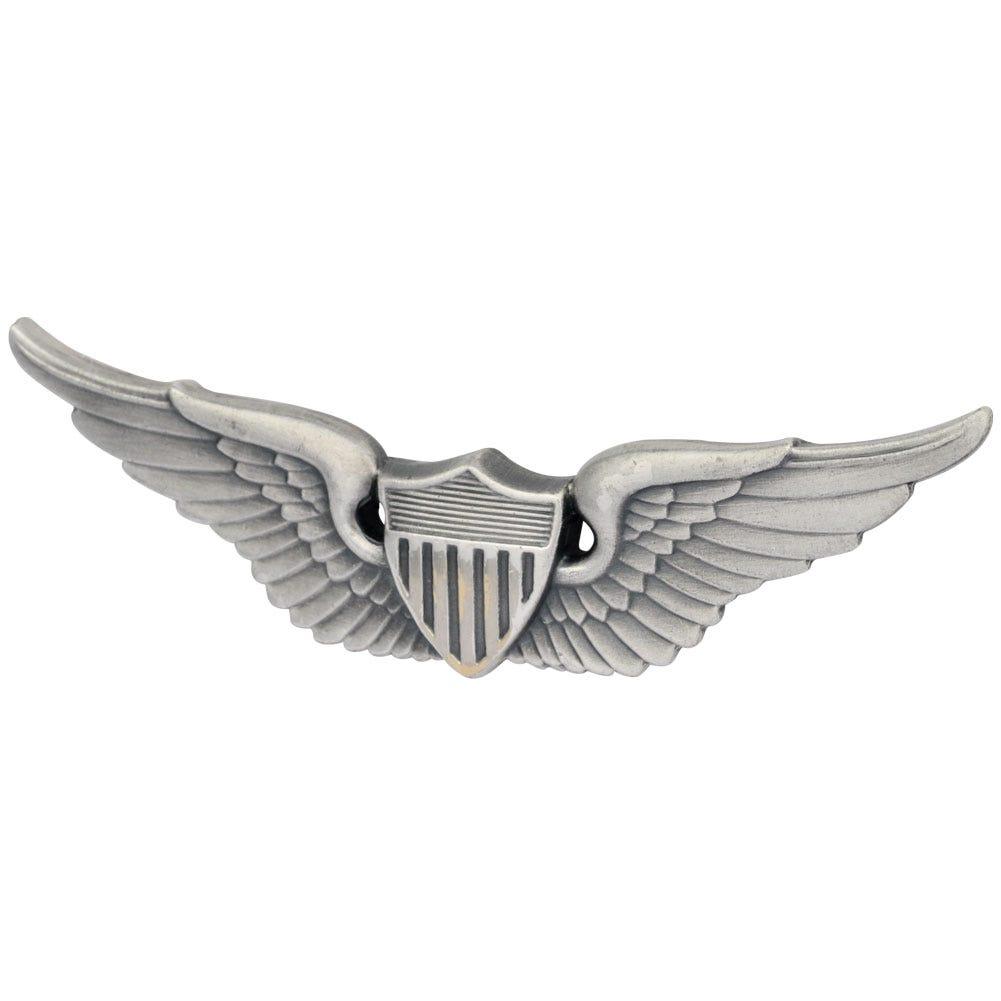 Army Aviator Badge Black Finish