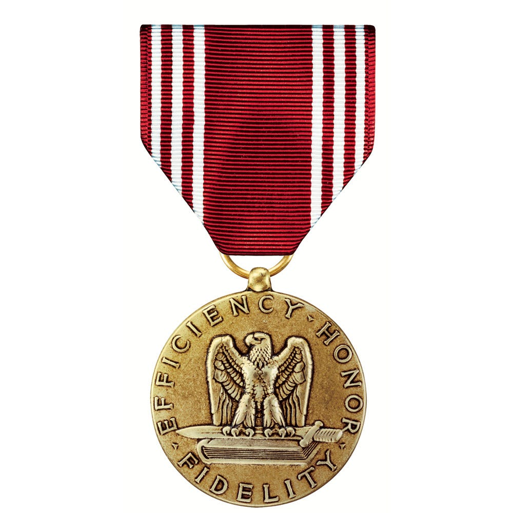Medals of America 4 Ribbon or Medal Mounting Bar Silver
