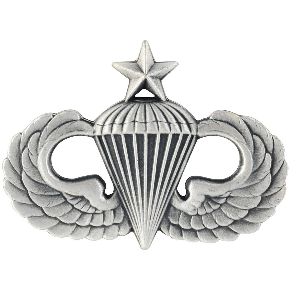 Details about  /GENUINE U.S SENIOR COMBAT PARACHUTE FIFTH AWARD ALL SIZES//FINISHES ARMY BADGE