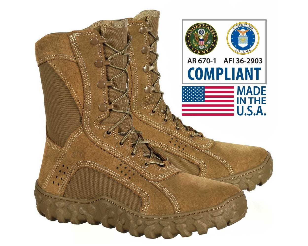 Rocky S2V- Tactical Military Boot