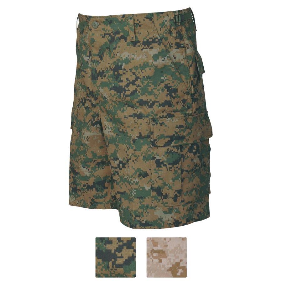 Tru-Spec Digital Woodland BDU Shorts