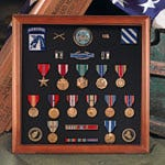 Mounted Shadow Box