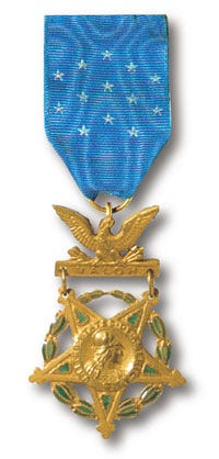 Army Medal of Honor 190 to 1944 design