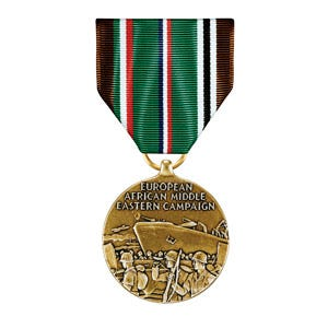 Europe Africa Middle East Medal