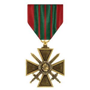 French Croix De Guerre Medal