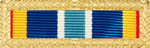 Air Force Expeditionary Ribbon with the frame