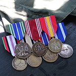 Gold Anodized Medals