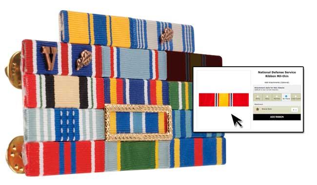 Ribbon Rack Builder