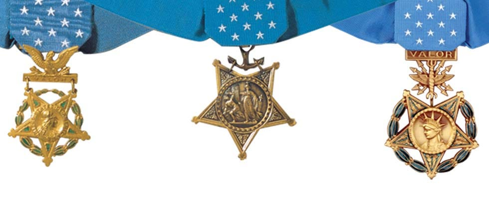 Army Medals And Ribbons Chart Medals Of America